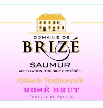 Saumur Rosé Domaine de Brizé